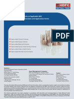 HDFC TaxSaver Application Form