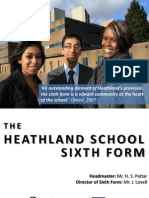 The Heathland School Sixth Form Prospectus