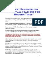 Scheinfeld Teachings Overview
