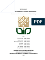 makalah sejarah hukum islam di Indonesia