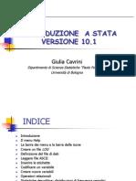 Introduzione a STATA 10.1