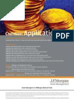 JPMorgan India Tax Advantage Fund Application Form