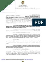 AÇÃO DE RECONHECIMENTO DE UNIÃO ESTÁVEL cumulada com DISSOLUÇÃO GUARDA VISITA ALIMENTOS