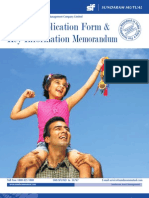 Sundaram Tax Saver Application Form