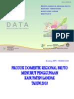 PDRB Penggunaan 2010