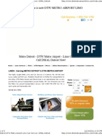 DTW Metro Airport Limo - Website
