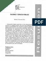 Delgado, M. - Racismo y espacio público [1998]