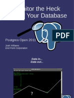 Monitoring postgresql