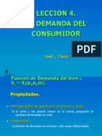 Demanda Del or Power Point