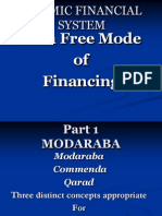 6..Riba Free Financial Product Modaraba Part 1