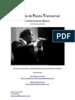 Apostila de Flauta Transversal, Conhecimento Básico. Site Estudante de Flauta - Nilson Mascolo