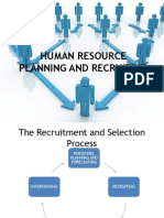 Human Resource Planning and Recruiting