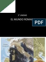 Unidad 2 El Mundo Romano