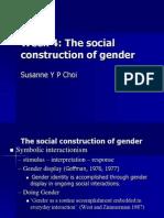Gender Display and Doing Gender