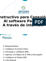 Instructivo Conexión al aplicativo Pacífico
