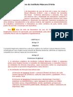Regimento Internodo Instituto Mascara D'Arte[1] - V2 - 07 Dez 2012