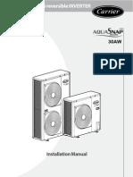 30 AW Installation Manual