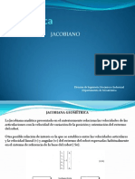 Jacobiano Geometrico y Singular Ida Des