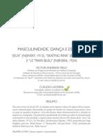 6 p 2 - MAsculinidade e Dança - Victor Melo