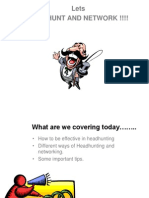 Headhunting PPT