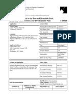 M-NCPPC Final Staff Report 12-2-11