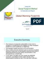 Global Warming Footprint