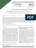 Biodiesel Production by Esterification of Palm Fatty Acid Distillate