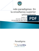 Rompiendo paradigmas en la enseñanza superior universitaria