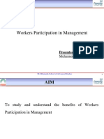 Workers Participation in Management