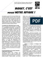 Tract UFICT Budget RGPP Oct 2008