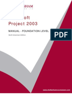 Project 2003 Basic Manual