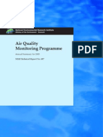 Air Quality Monitoring Programme - Unknown - 2003