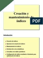 7.5.- Creacion de Indices