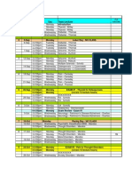 PP565 - Course Schedule Fall 2011 Fina
