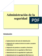 Admin is Trac Ion de La Seguridad