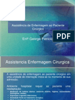 Assistencia de Enfermagem ao Paciente Cirúrgico