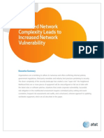 1 16207 Increased Network Complexity Leads to Increased Network Vulnerability