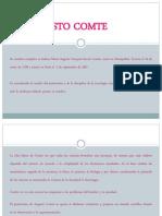 Contexto Histórico de Augusto Comte