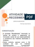 ATIVIDADE DE RECEBIMENTO