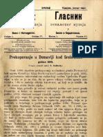 Glasnik Zemaljskog Muzeja 1892./god.4 knj.1
