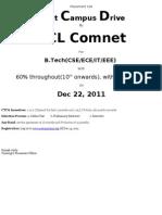 Campus Notice HCL Comnet 2012