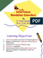 Lectures 3-4 Mendelian Inheritance