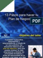 13 Pasos Para Hacer Tu Plan