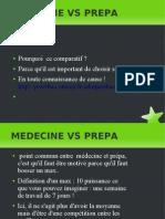 comparatif medecine prepa