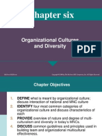 Cm Ch Six on Org Cultures and Diversity Spring 2011