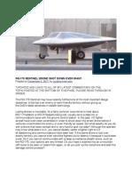 Rq-170 Sentinel Drone Shot Down Over Iran?