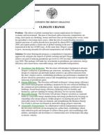 Climage Change Agenda 1008
