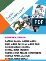 Robot Technology PRESENT