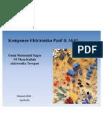 Komponen Elektronika Pasif & Aktif