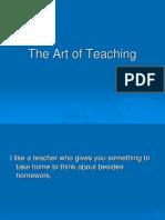 The Art of Teaching 2554